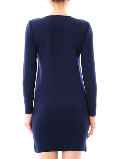 J.W. Anderson Contrast panel wool dress