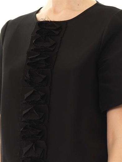 J.W. Anderson Ruffle-panel blouse