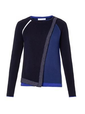 Wool and angora-blend sweater