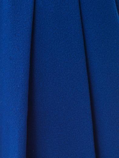 J.W. Anderson Ten pleat wool skirt