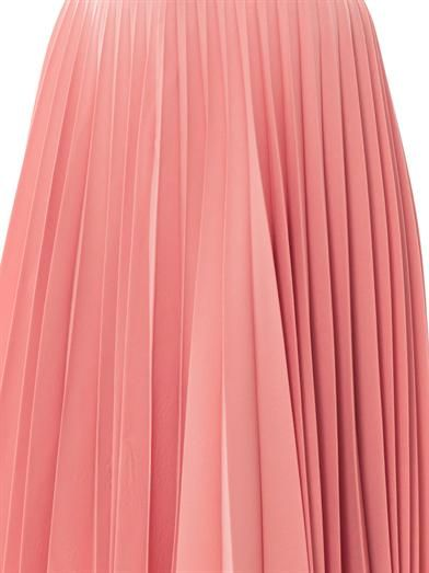 J.W. Anderson Pleated wool skirt