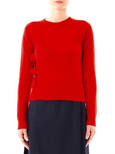 J.W. Anderson Tie-side wool sweater