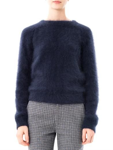 J.W. Anderson Banded angora sweater