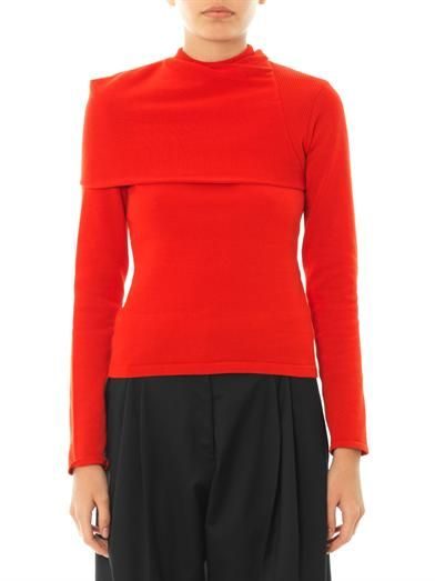 J.W. Anderson Wrap-neck sweater