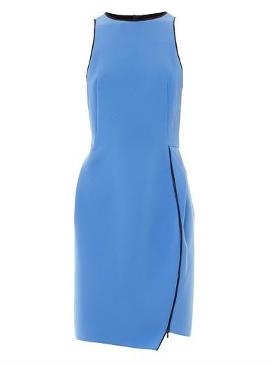Dion Lee Zip-detail crepe dress