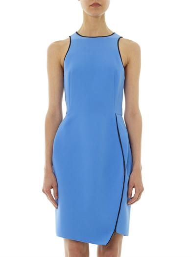 Dion Lee Zip-detail crepe dress