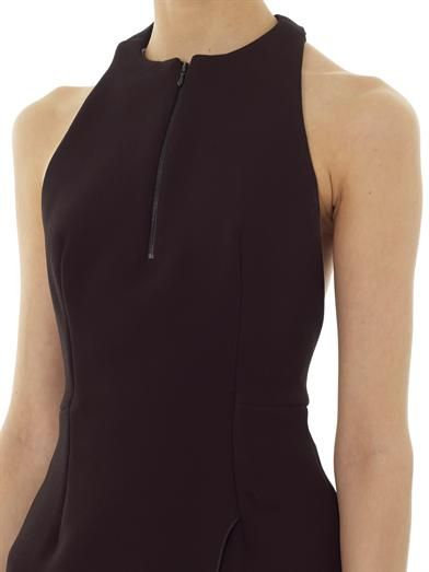 Dion Lee Knotted back crepe dress