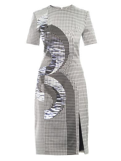 Dion Lee Axis print silk dress