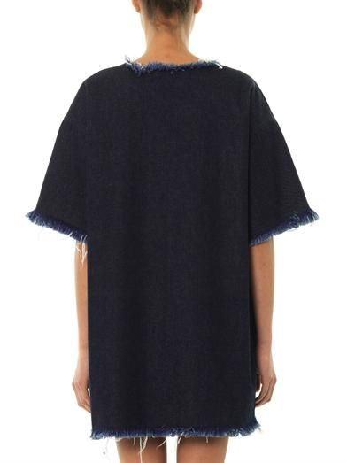 Marques Almeida Denim shift dress