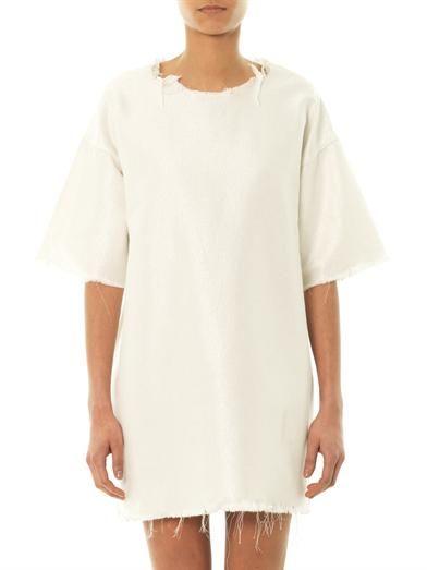 Marques Almeida Denim shift dress