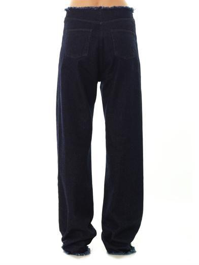 Marques Almeida Low-slung loose-fitting boyfriend jeans