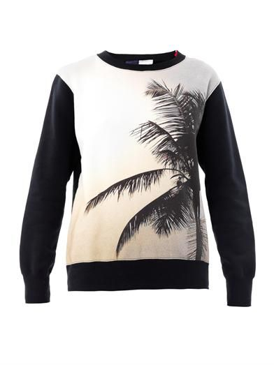 Ar Srpls Dezso palm-print sweatshirt