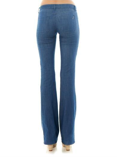 Seafarer Calypso mid-rise boot-cut jeans