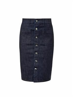 Sandy denim pencil skirt