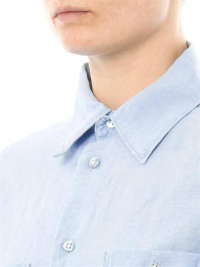 Seafarer Chambray Sea shirt