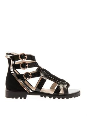 Marnee leather gladiator sandals