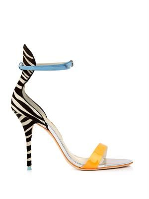 Nicole calf-hair sandals