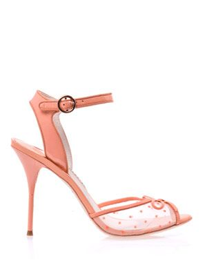 Lula polka-dot bow sandals