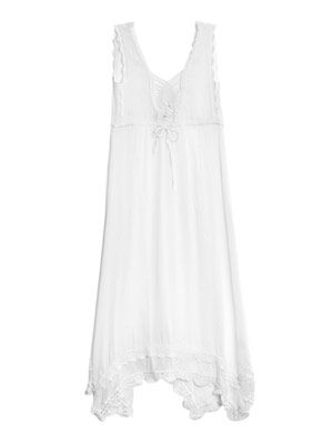 Tes gauze maxi dress