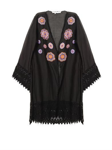 Ondademar Embroidered cover up
