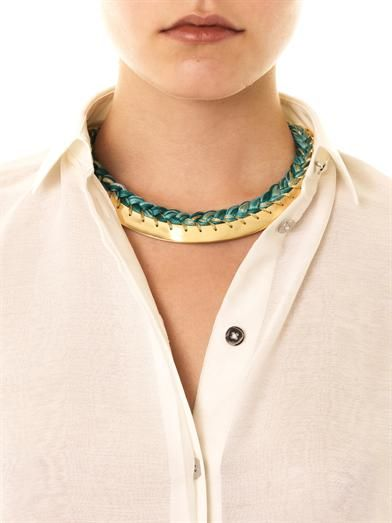 Aurélie Bidermann Copacabana gold necklace
