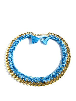 Brasil plaited chain necklace