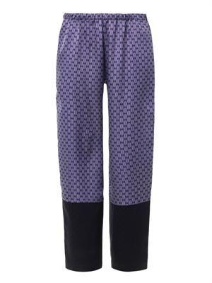 Calthamus silk trousers