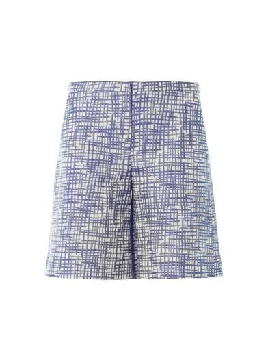 Missoni Zigzag jacquard tailored shorts