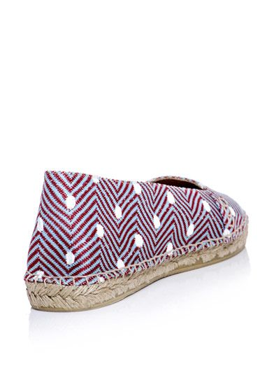 Missoni Chevron dot espadrilles