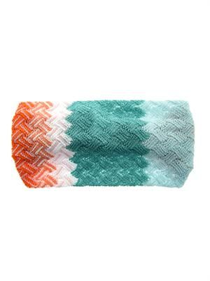 Zigzag knitted headband