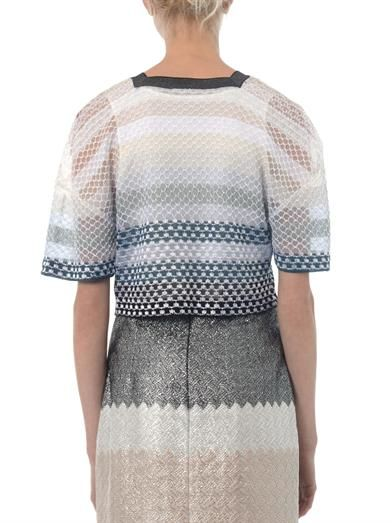 Missoni Embroidered knit cardigan