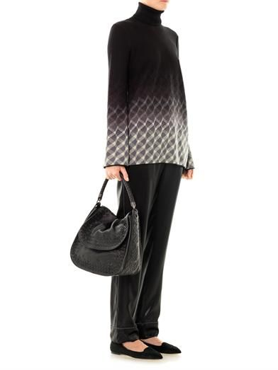 Missoni Straight-leg silk trousers