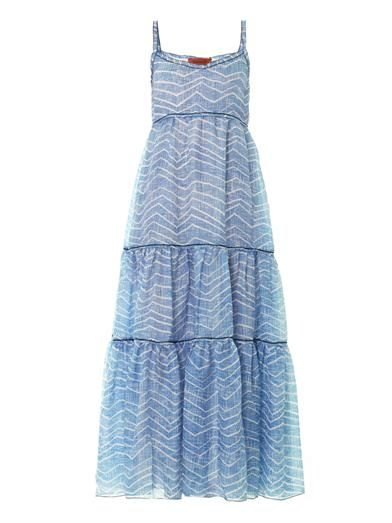 Missoni Zigzag-print maxi dress