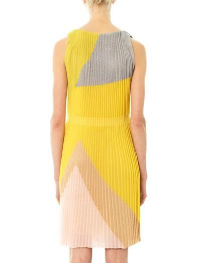Missoni Tri-colour geometric dress