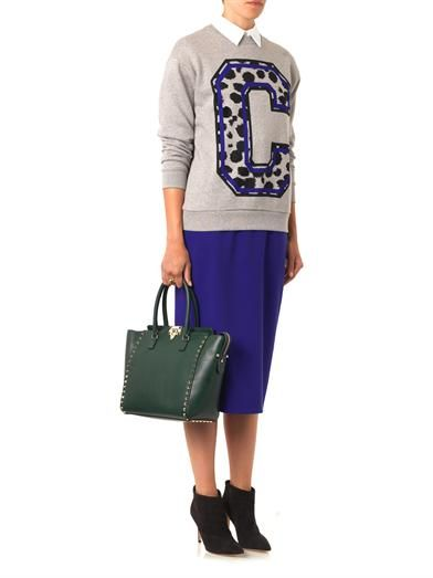 Être Cécile Cheetah C-print sweatshirt