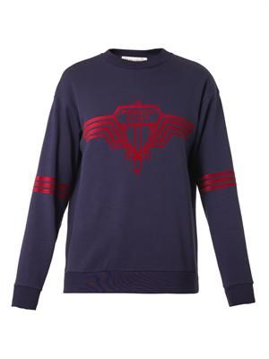 French Fury cotton sweatshirt
