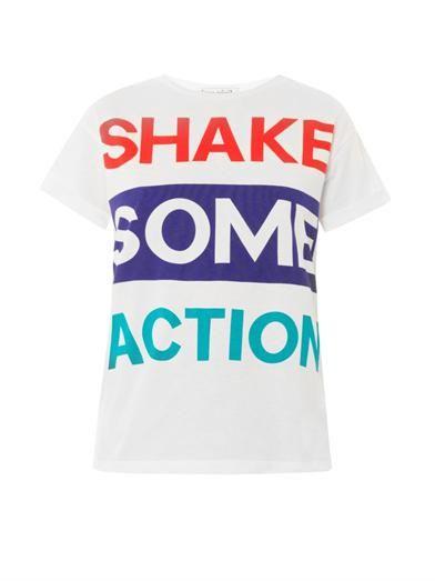 Être Cécile Shake some action print T-shirt