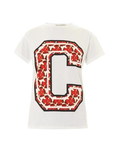 Être Cécile Tropical C-print T-shirt
