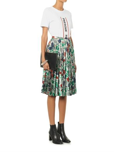 Être Cécile Presque stripe cotton T-shirt