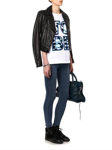 Être Cécile To Be-print cotton T-shirt