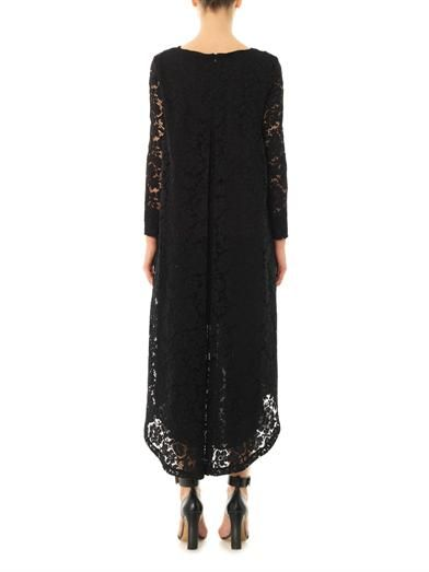 Adam Lippes Trapeze-hem lace dress