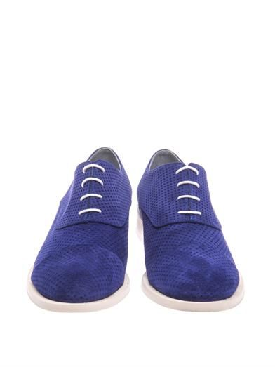 Amélie Pichard Coco perforated suede lace-up shoes