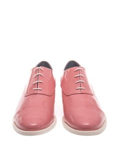 Amélie Pichard Coco patent leather lace-up shoes