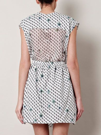 Theyskens' Theory Diller ikabyles-print dress