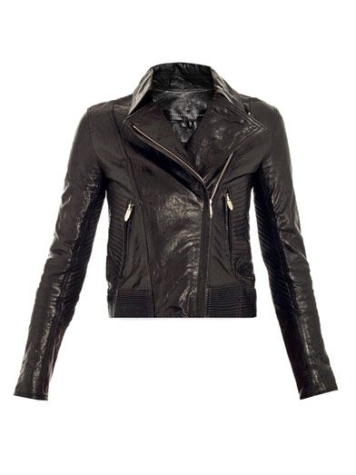 Theyskens' Theory Javda leather biker-jacket