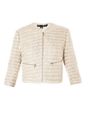 Jutie-flancy tweed jacket