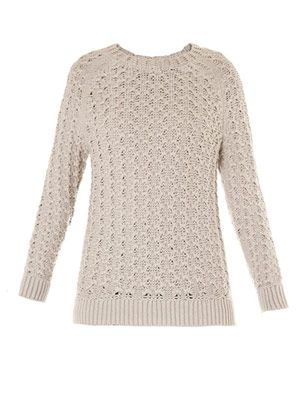 Kice yark open weave sweater