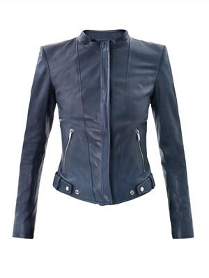 Nomi Janner leather jacket