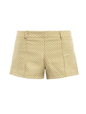 Cheeky Boy diamond brocade shorts