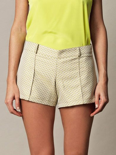Anna & Boy Cheeky Boy diamond brocade shorts